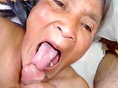 Viejo latina amateur abuelita con grandes tetas y gran culo