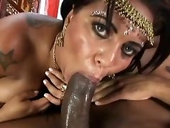 Huge breasts Indian getting fucked