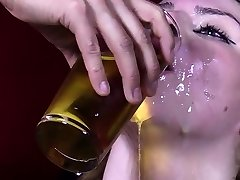 Hot pornstar mass ejaculation with swallow