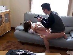 Asian Stepmom Fujisaki Used And Abused