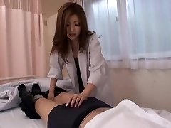 Best Japanese lady Rio Hamasaki in Incredible Nurse, Sucky-sucky JAV movie