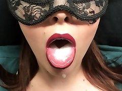 padevīgs, lēni deepthroat moaning blowjob, kumoss cum - custom video