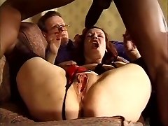 Messy Blonde Bbw Anal Beads Big Dildo Dp Double Penetration
