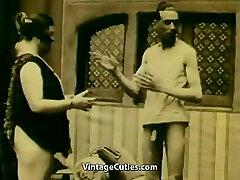 Onanerar och Övertalning för att Suga (1920-talet Vintage)