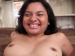 Ugly amateur asian lady banged hard