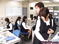 Cute Asian Secretary Fucked part4