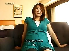 Epic Japanese model in Horny Pregnant, Wooly JAV movie