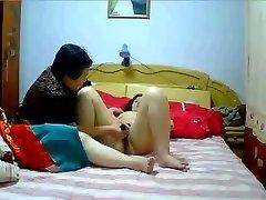 Čínsky MILF a Lesbičky domáce