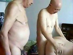 Japonský Grandpas a babička