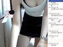 Korejsko dekle super srčkan in kot nalašč telesa kažejo, Webcam, Vol.01