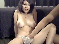 Uber-sexy Homemade video with Masturbation, Big Orbs scenes