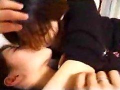 Japanese Lesbian Milfs Kissing
