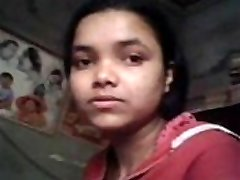 Indian real sista snatch fingured &amp_ Bosoms pressed by own brother while studying