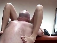 AsianSexPorno.Com - Asian office gal fucked on table