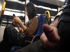Flash Asian Nymph on Train
