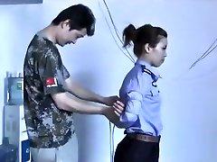 3 Chinese Femmes Playing In Bondage