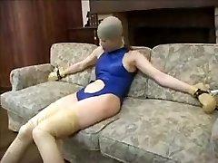 Exotic inexperienced Latex, Fetish adult clip