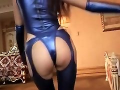 Horny amateur Latex, Fetish xxx gig