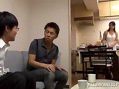 Eriko Miura mature and wild Chinese nurse in stance 69
