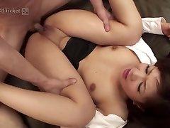 Shino Nakamura's Fuck-holes Pulverized at Office (Uncensored JAV)