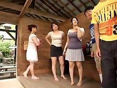 Hottest Japanese female Sumire Shiratori, Hitomi Yuki, Reina Nakama in Best Compilation, Outdoor JAV video