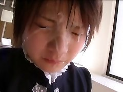 Intense Japanese damsel facial compilation 2.  (Censored)