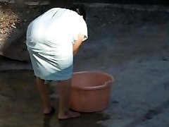 Stagging Indian Aunty Ample Ass - Bend Over Butt - Booty Hidden Cam - Desi Candid