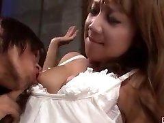 Extreme porn scenes along hot wife Ryo Akanishi
