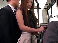 Mischievous Asian girl Minori Hatsune in Astounding Outdoor, Upskirts/Panchira JAV movie