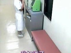Juicy nurse creampied in spy cam medical flick