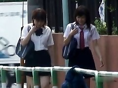Japanese Panties-Down Sharking - Students Pt 2- CM