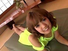 Gorgeous toy porn along insolent Asian woman Kana Aono