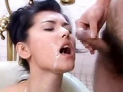 Jap AV idol Mass Ejaculation
