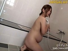 Sexy Preggie Japanese MILF - Part 1