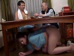 Incredible Japanese bi-atch in Gorgeous Blowjob, Fetish JAV clip