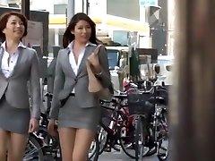 Insane Asian model Azusa Maki, Kaede Imamura, Makina Kataoka in Greatest Compilation, Voyeur JAV movie