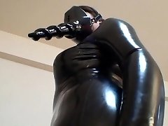 Asian Latex Catsuit 02