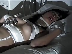 Purple Haired Gothic Chinese Puts On One Naughty Fetish Show