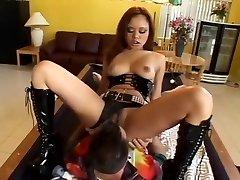 Incredible superstar Annie Cruz in best blowjob, anal fuck-a-thon clip