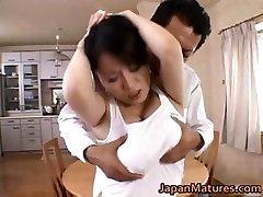 Miki Sato real japanese mum has orgy partFive
