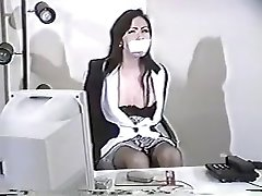 Crazy homemade Office, MILFs adult flick
