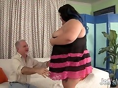 Fatty Asian Plus-size Sugar gets fucked firm