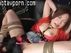 Chinese Parents Make A Teen Orgasm
