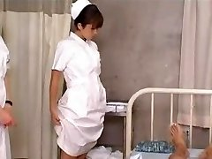 Japanese Schoolgirl Nurses Training and Practice