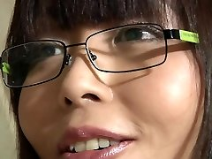Asian school girl takes old instructor cumshot in her jaws