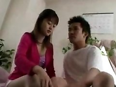 Chinese Teen drinks cums...F70