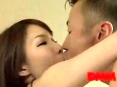 Maisaki Mikuni kiss and fuck session