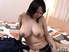 Gigantic pantoons asian's lusty insertion