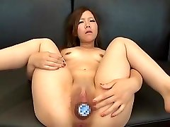 Two Hot Asian Big Bottle Insertions