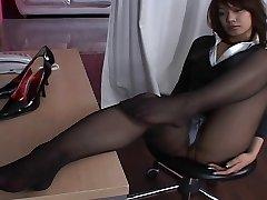 Asian Stockings Upskirt